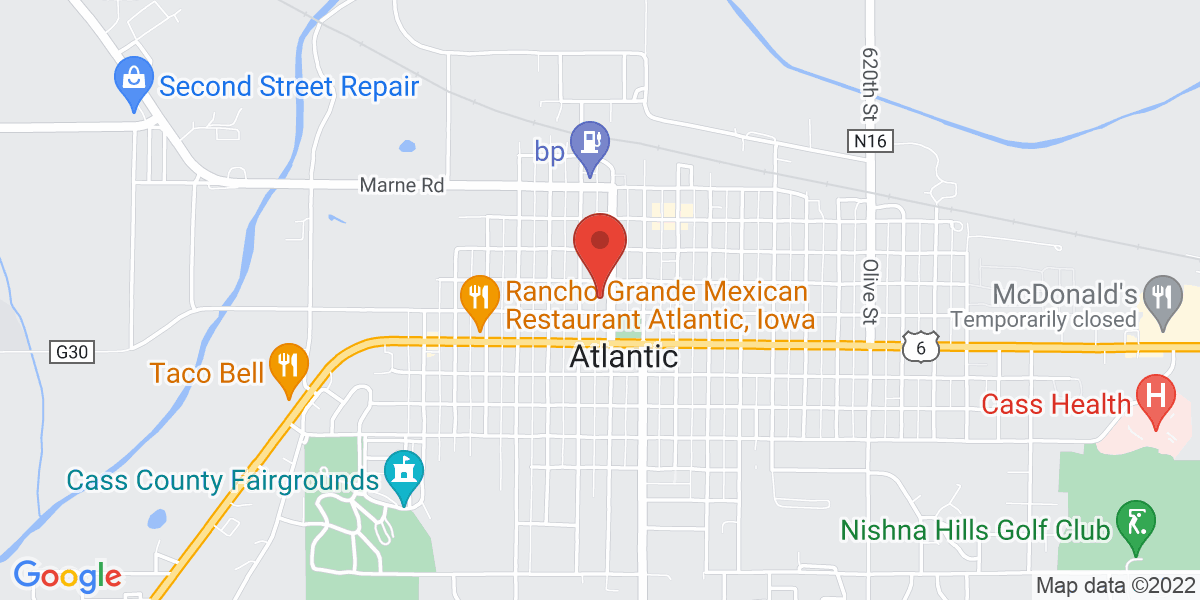Map of Atlantic Public Library